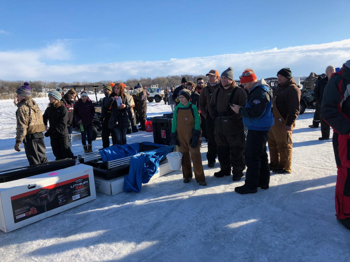 Annual Ice Fishing Tournament - Fairmont Lakes Foundation
