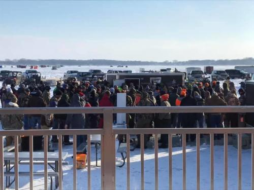 Our largest winter tournament to date with 219 anglers registered